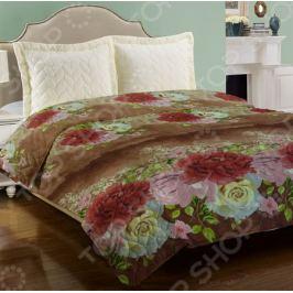 Одеяло «Уютное». Цвет: коричневый