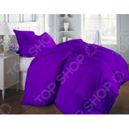 Одеяло «Люкс». Цвет: фиолетовый