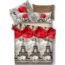 Комплект постельного белья МарТекс Love in Paris