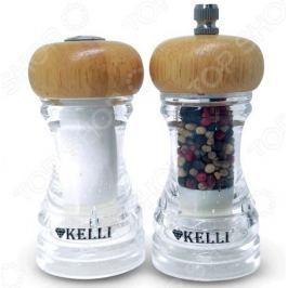 Набор:мельница для перца и солонка Kelli KL-11107