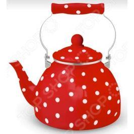Чайник эмалированный Kelli KL-4447 «Горох»