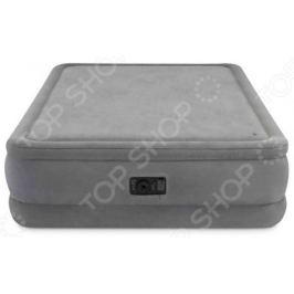 Кровать-матрас надувная Intex Foam Top Airbed, Queen 64470