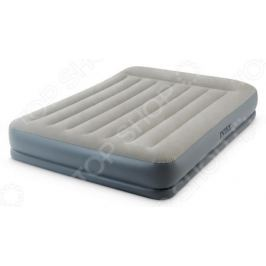Кровать-матрас надувная Intex Queen Mid-Rise Airbed With Fiber-Tech Bip 64118