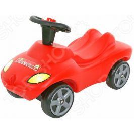 Машина-каталка Wader со звуковым сигналом «Пожарная команда»