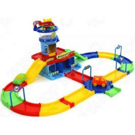 Набор игровой для мальчика Wader Play City «Аэропорт с дорогой»