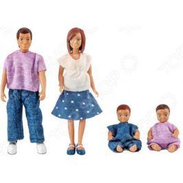 Набор кукол Lundby «Семья с двумя малышами»