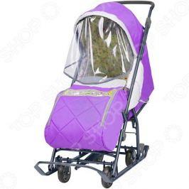Санки-коляска Ника «Наши детки»