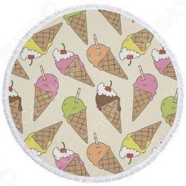 Полотенце-коврик пляжный Bradex «Мороженое»