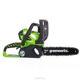 Пила цепная аккумуляторная Greenworks, без аккумулятора и зарядного устройства, 40V 20117
