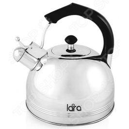 Чайник со свистком LARA LR00-06