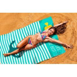 Покрывало пляжное Сирень «Лучший пляж»