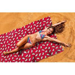 Покрывало пляжное Сирень «Необычный арбуз»