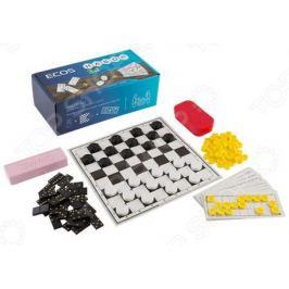 Набор «3 в 1»: лото, шашки, домино