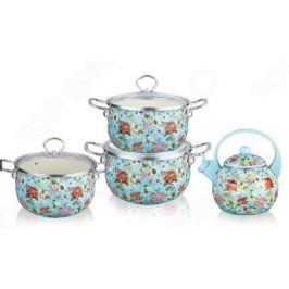 Набор посуды Kelli KL-4460 «Флоксы»