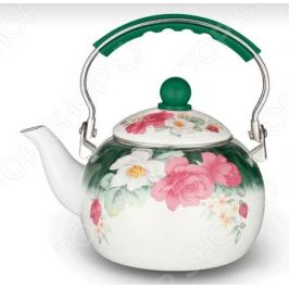 Чайник эмалированный Kelli KL-4117 «Шиповник»