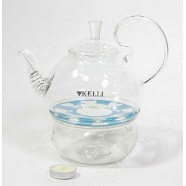 Чайник заварочный на подставке Kelli KL-3096