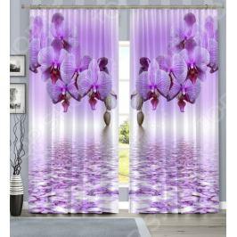 Комплект фотоштор «Нежная орхидея»