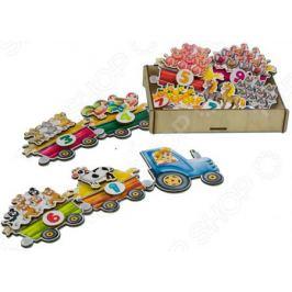 Игровой набор на липучках PAREMO «Поезд с овощами»