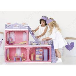 Коттедж для куклы Огонек «Маленькая принцесса»