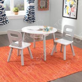 Набор детской мебели: стол и стулья KidKraft «Сердце» 26166_KE