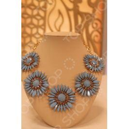 Колье «Весенняя хризантема»