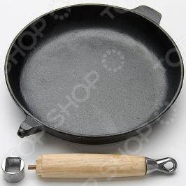 Сковорода Mayer&Boch со съемной деревянной ручкой
