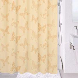 Штора для ванной Milardo Ivory dream, цвет: бежевый , 180 x 200 см