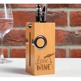 Подарочный набор для вина Love wine