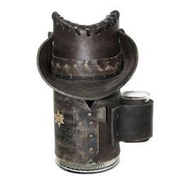 Сувенирная кружка Шериф, черная