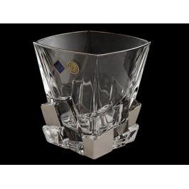 Набор из 6 бокалов для виски «Ice metal», гладкий хрусталь