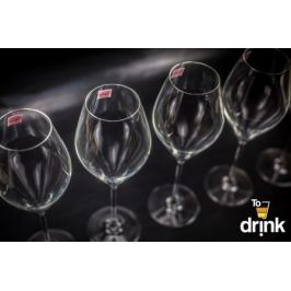 Набор из 6 бокалов для вина «Swan», 320 мл