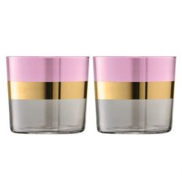 Набор из 2 стаканов Bangle, 310 мл, розовый