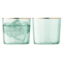 Набор из 2 стаканов Sorbet, 310 мл, зелёный