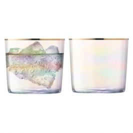 Набор из 2 стаканов Sorbet, 310 мл, перламутр