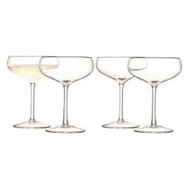 Набор из 4 бокалов для шампанского Wine, 215 мл