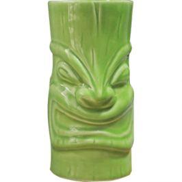Стакан для коктейлей «Тотем Тики» зеленый, 350 мл