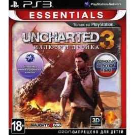 Uncharted 3: Иллюзии Дрейка. Essentials (PS3)