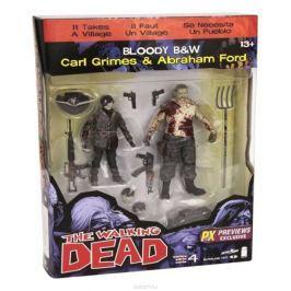 Walking Dead. Набор фигурок Carl/Abraham (2 шт)
