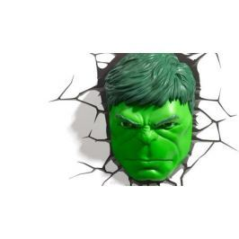 3DLightFX Настенный 3D cветильник Hulk Face