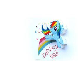 3DLightFX Настенный 3D cветильник MLP Mini Rainbow Dash