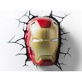 3DLightFX Настенный 3D cветильник Classic Iron Man Mask