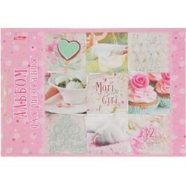 Hatber Альбом для рисования Sweet Mori Girl 32 листа 14551