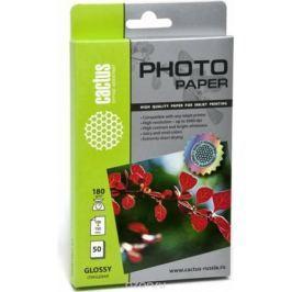 Cactus CS-GA618050 A6/180г/м2 глянцевая фотобумага для струйной печати (50 листов)