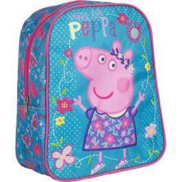 Peppa Pig Рюкзак дошкольный цвет бирюзовый мультиколор