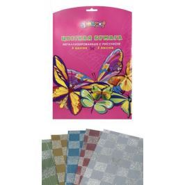 Silwerhof Цветная бумага металлизированная Shine Flyers 5 листов 5 цветов