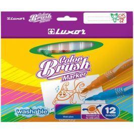 Luxor Набор фломастеров Color Brush 12 цветов
