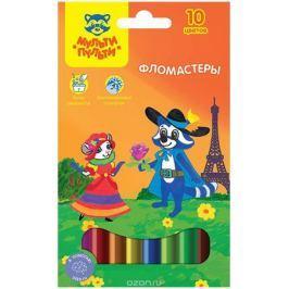 Мульти-Пульти Набор фломастеров Енот во Франции 10 цветов