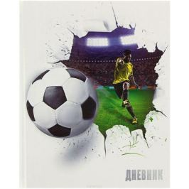Calligrata Дневник школьный Футбольный мяч для 5-11 классов