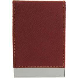 Визитница вертикальная цвет красный 116361