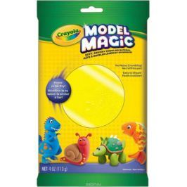 Crayola Застывающий пластилин цвет желтый 113 г